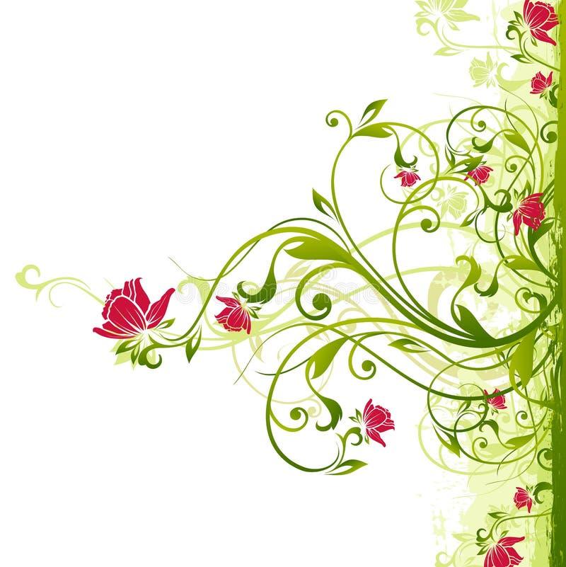 Priorità bassa floreale royalty illustrazione gratis