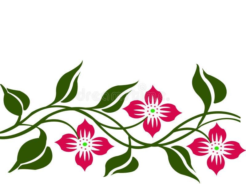 Download Priorità bassa floreale illustrazione di stock. Illustrazione di colore - 7305528