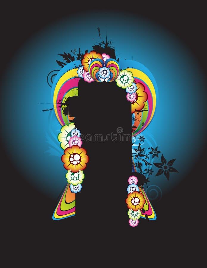 Download Priorità bassa floreale illustrazione vettoriale. Illustrazione di etichetta - 7313767