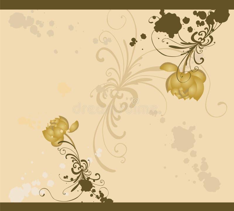Download Priorità bassa floreale illustrazione vettoriale. Illustrazione di decorativo - 7322223