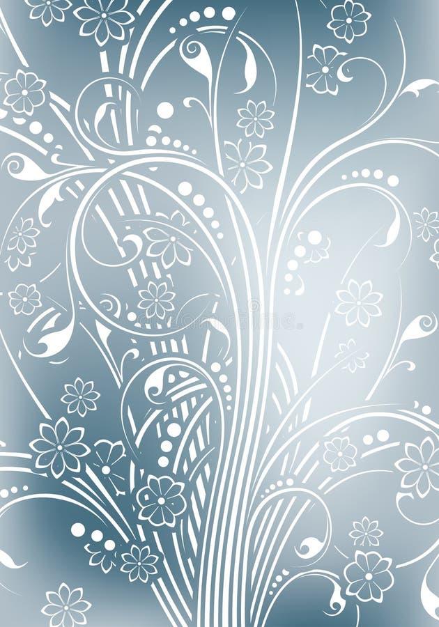 Priorità bassa floreale astratta illustrazione vettoriale