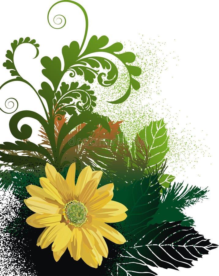 Priorità bassa floreale astratta royalty illustrazione gratis