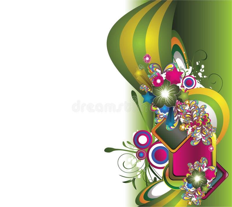 Download Priorità Bassa Floreale Astratta Illustrazione Vettoriale - Illustrazione di filigree, fiore: 7312967