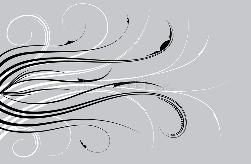 Priorità bassa floreale astratta, elementi per il disegno, vettore illustrazione vettoriale