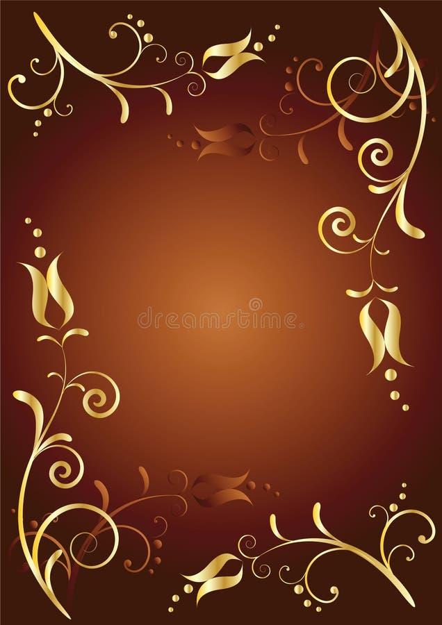 Download Priorità Bassa Floreale Con Il Posto Per Il Vostro Testo Illustrazione Vettoriale - Illustrazione di decorazione, colore: 7309222
