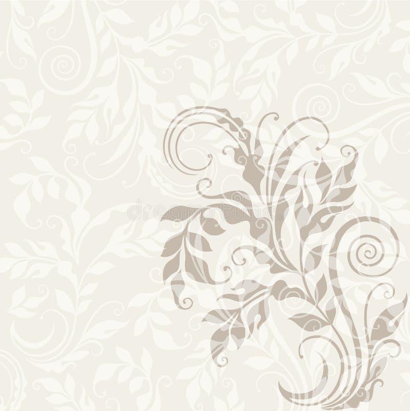 priorità bassa floreale decorativa illustrazione vettoriale