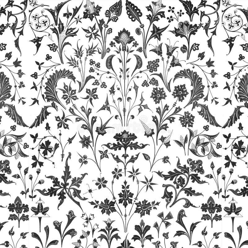 Download Priorità Bassa Floreale Della Sovrapposizione Del Victorian Illustrazione di Stock - Illustrazione di aggancio, stagione: 3892250