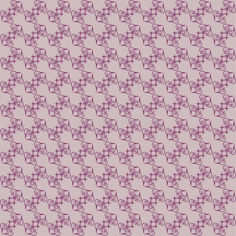 Priorità bassa floreale di colore senza giunte del claret illustrazione vettoriale