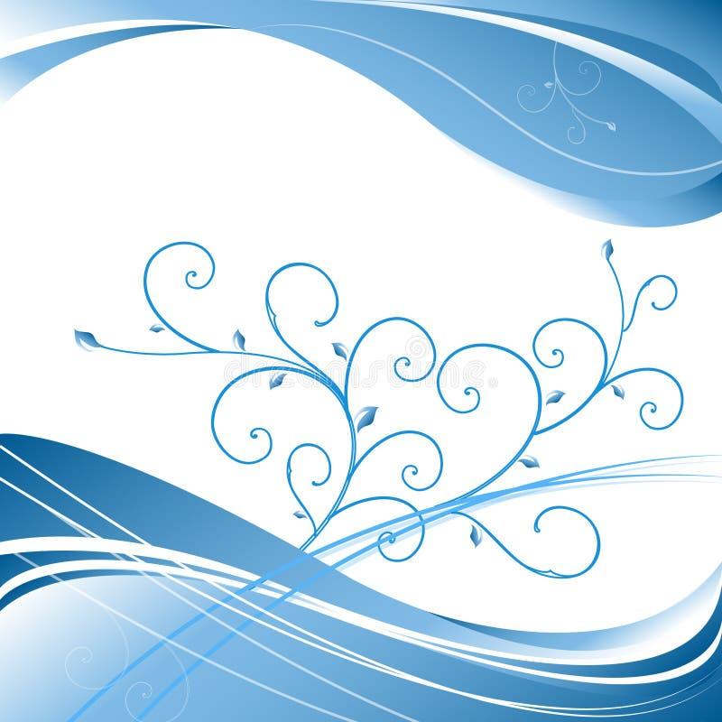 Priorità bassa floreale elegante di vettore royalty illustrazione gratis