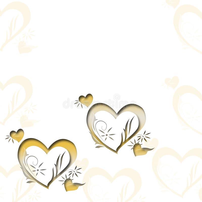 Priorità bassa floreale Invito, nozze, modello decorativo delle carte di carta Struttura royalty illustrazione gratis