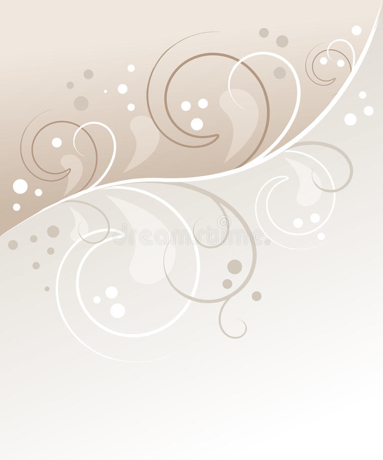 Priorità bassa floreale pastello illustrazione vettoriale