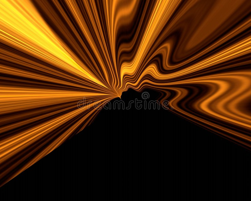 Priorità bassa fumosa arancione royalty illustrazione gratis