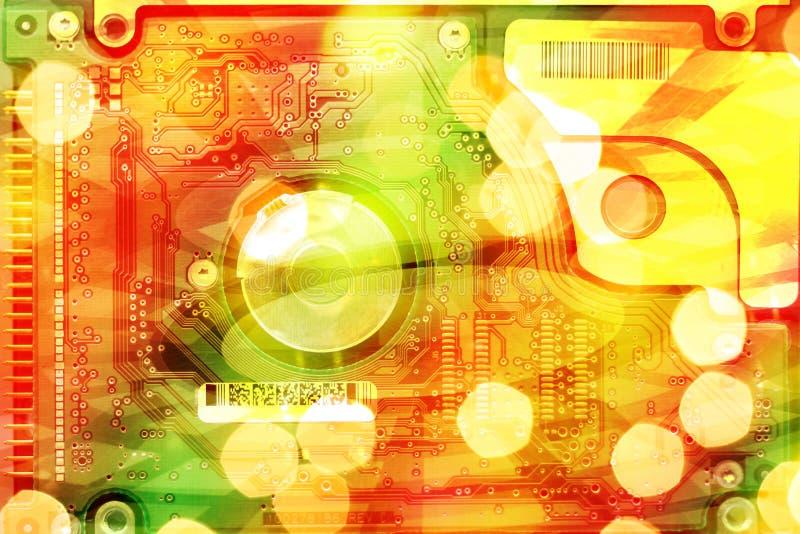Priorità bassa futuristica astratta immagini stock
