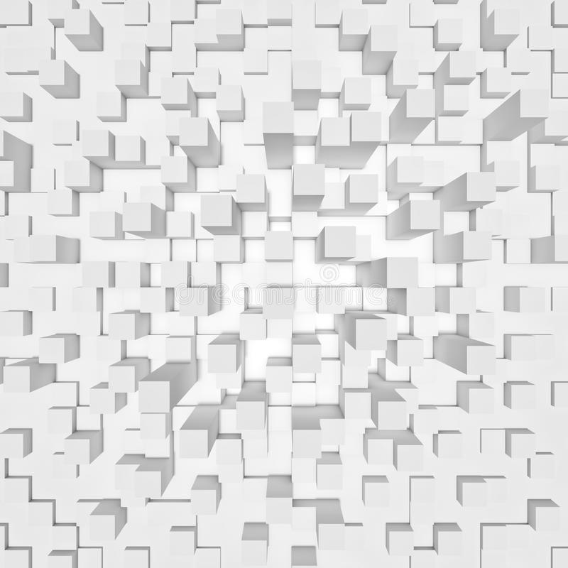 priorità bassa geometrica 3d royalty illustrazione gratis