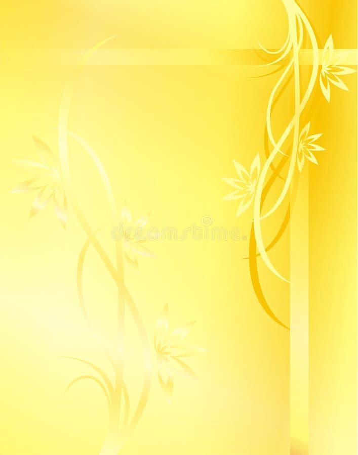 Priorità bassa gialla royalty illustrazione gratis