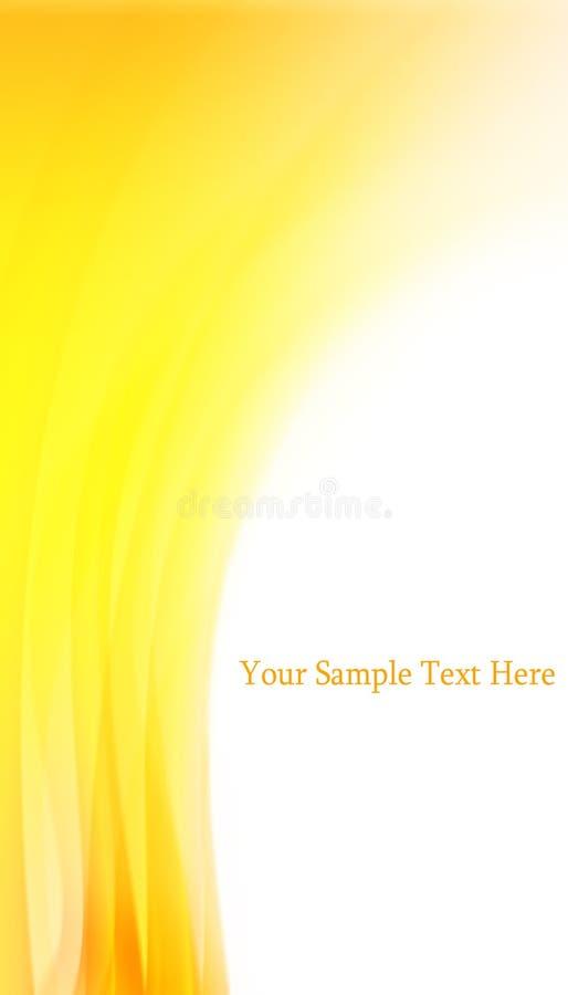 Priorità bassa gialla astratta fotografia stock libera da diritti