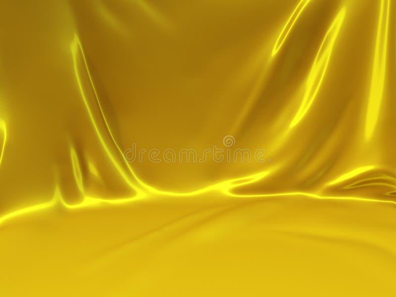 Priorità bassa gialla di colore illustrazione vettoriale