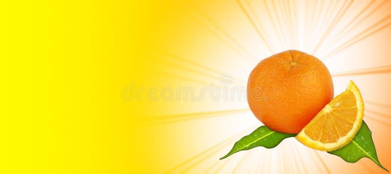 Priorità bassa giallo-arancione illustrazione vettoriale