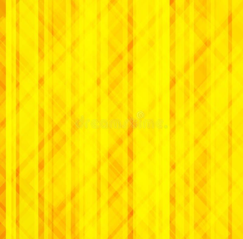 Priorità bassa giallo arancione illustrazione vettoriale