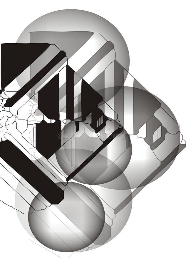 Download Priorità Bassa Grigia Astratta Illustrazione Vettoriale - Illustrazione di figura, progettazione: 7307507