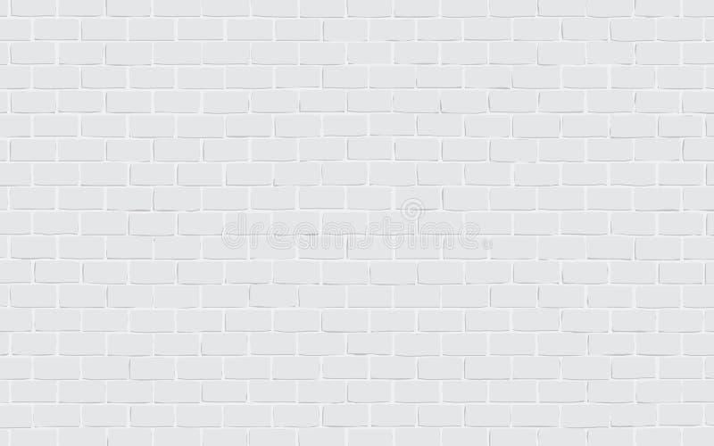 Priorità bassa grigia del muro di mattoni illustrazione vettoriale