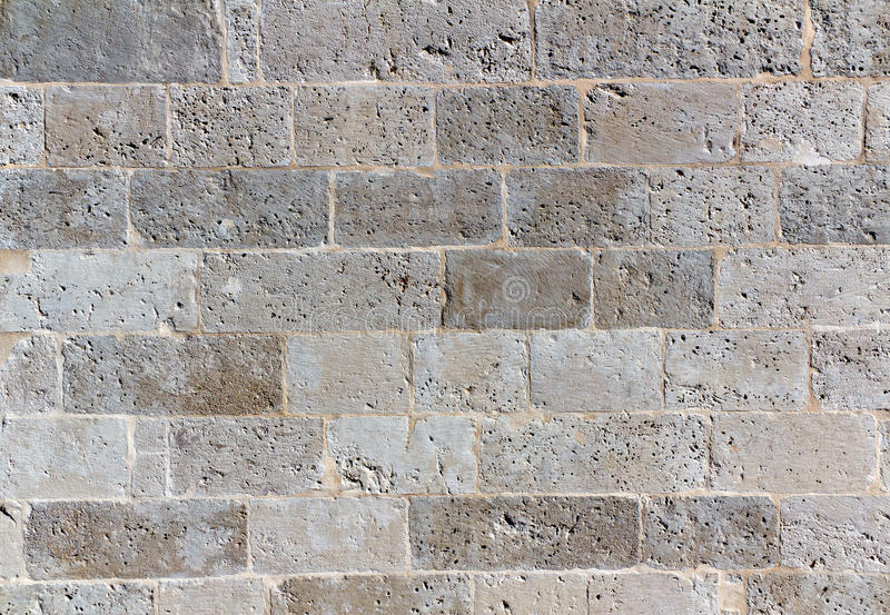 Priorità bassa grigia del muro di mattoni dello schermo immagini stock libere da diritti