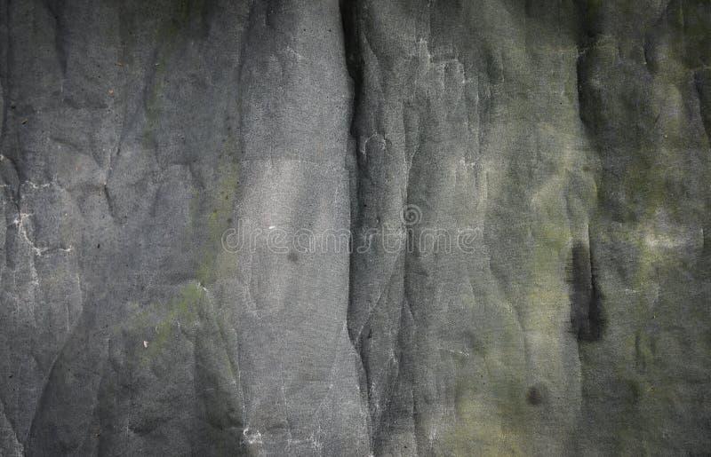 Priorità bassa grigia della tela di canapa immagine stock