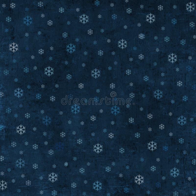 Priorità bassa Grungy di inverno illustrazione vettoriale