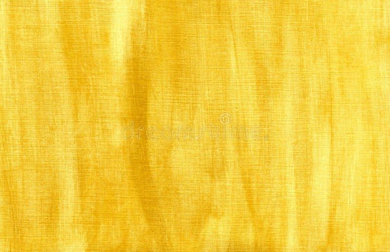 Priorità bassa Handmade dell'oro su tela di canapa. illustrazione vettoriale