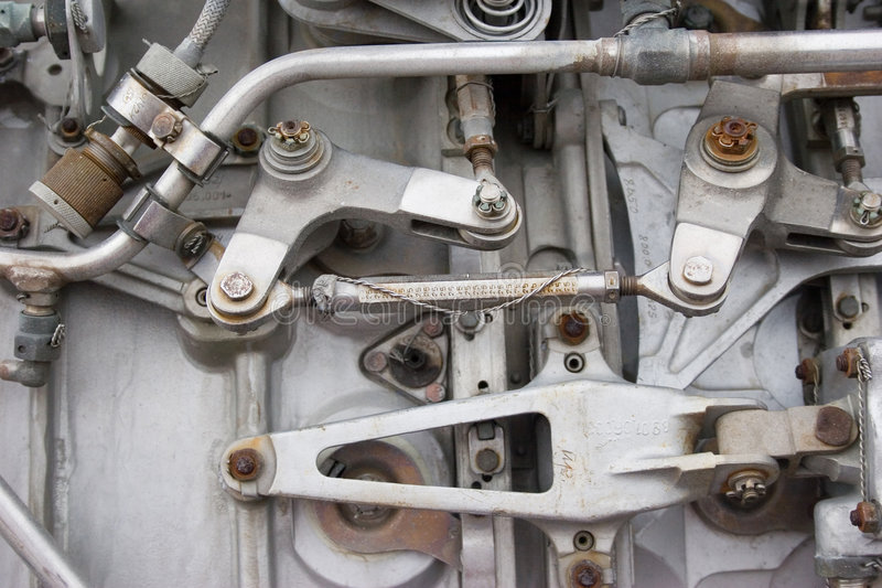 Priorità bassa industriale del metallo fotografia stock libera da diritti