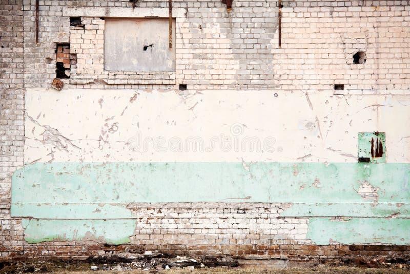Priorità bassa invecchiata della parete fotografia stock