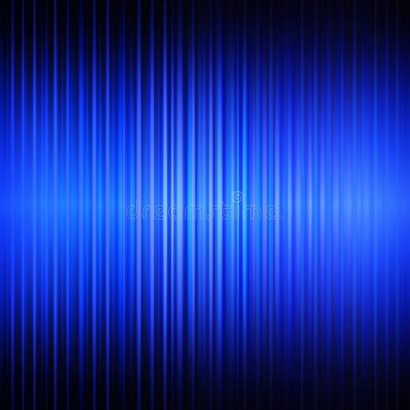 Priorità bassa lineare astratta blu immagine stock libera da diritti