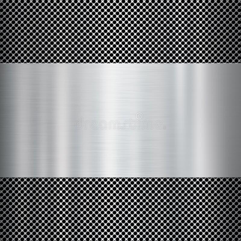 Priorità bassa lucida di struttura del metallo immagine stock