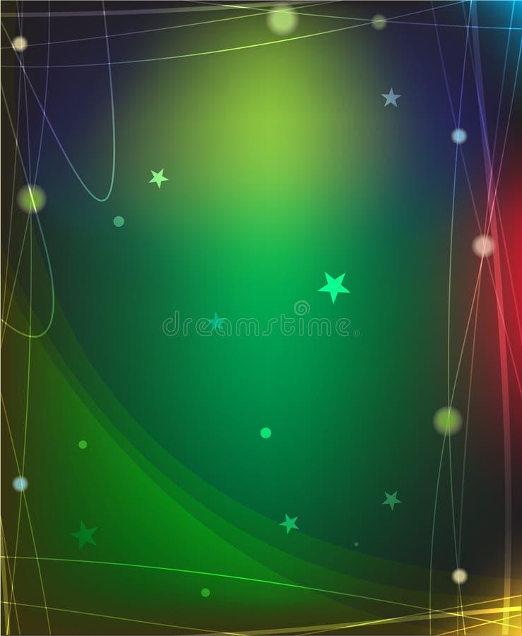 Priorità bassa magica della stella royalty illustrazione gratis