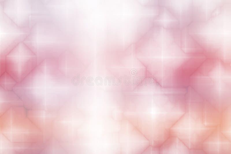 Priorità bassa magica rosa-chiaro dell'estratto di fantasia royalty illustrazione gratis