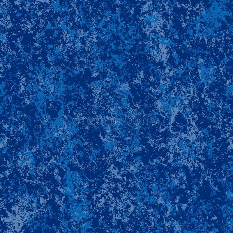 Priorità bassa marmorizzata vettore blu royalty illustrazione gratis