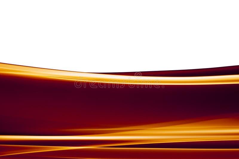 Priorità bassa marrone-arancione scura su bianco royalty illustrazione gratis