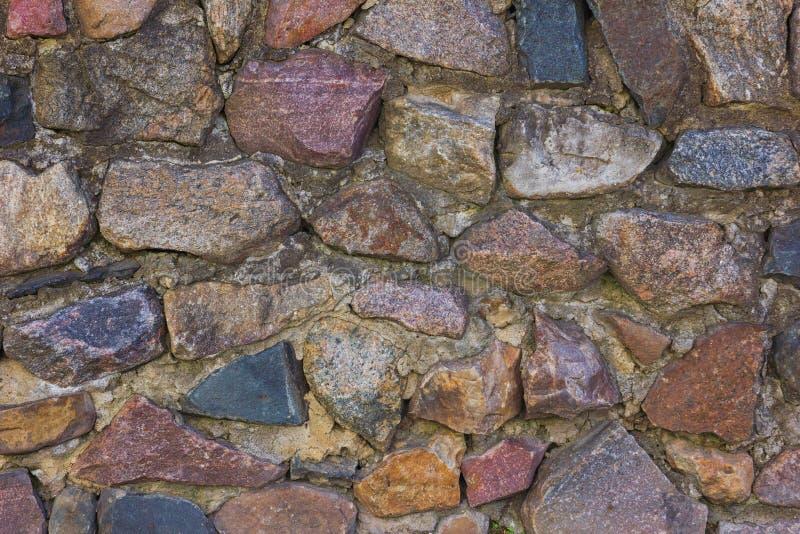 Priorità bassa medioevale della parete di pietra immagini stock