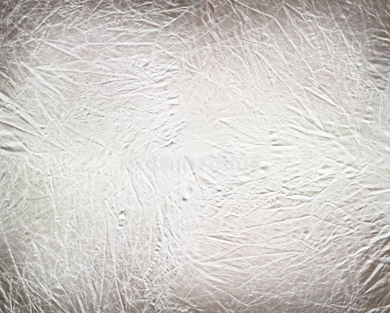 Priorità bassa metallica d'argento spazzolata immagine stock libera da diritti