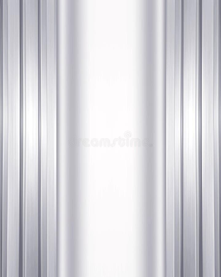 Priorità bassa metallica doppia fotografie stock
