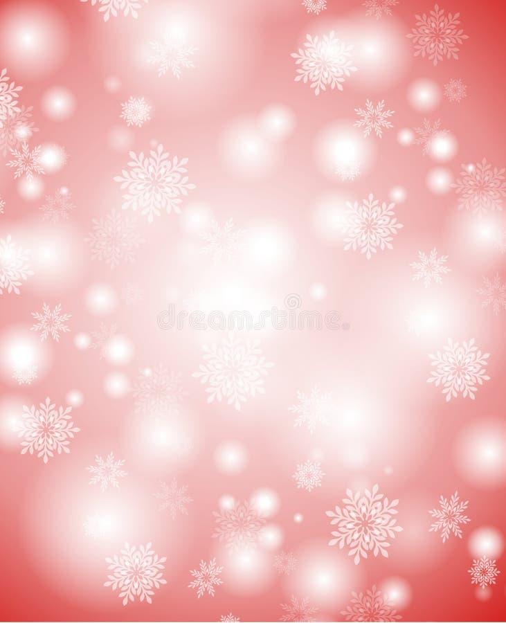 Priorità bassa molle 2 dei fiocchi di neve illustrazione vettoriale