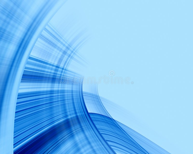 Priorità bassa molle blu illustrazione di stock