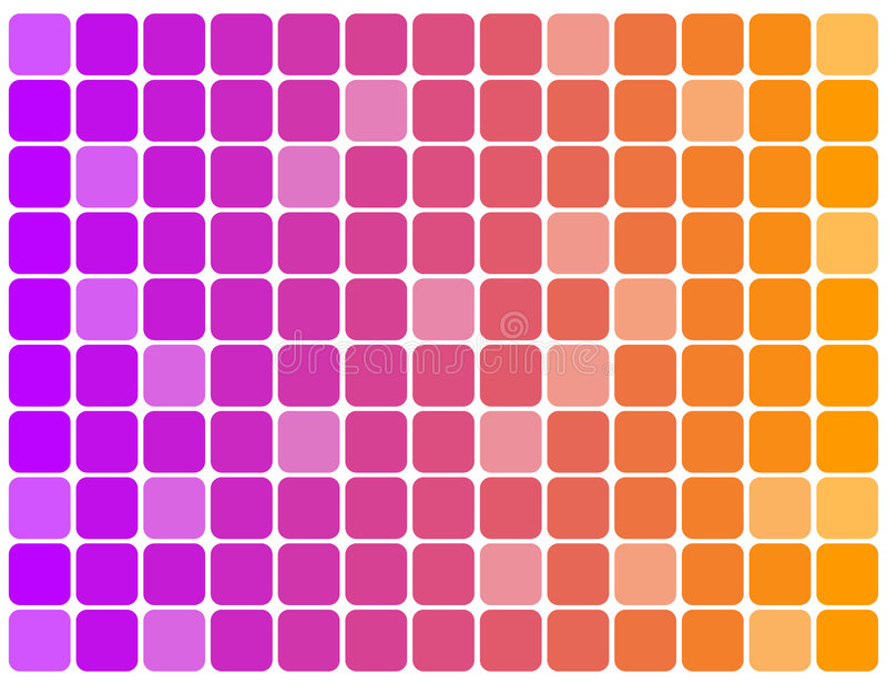 Priorità Bassa - Multi Cubi Di Colore Fotografia Stock