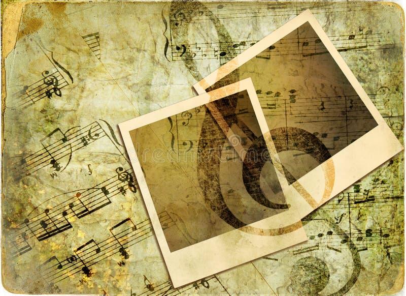 Priorità bassa musicale fotografia stock libera da diritti