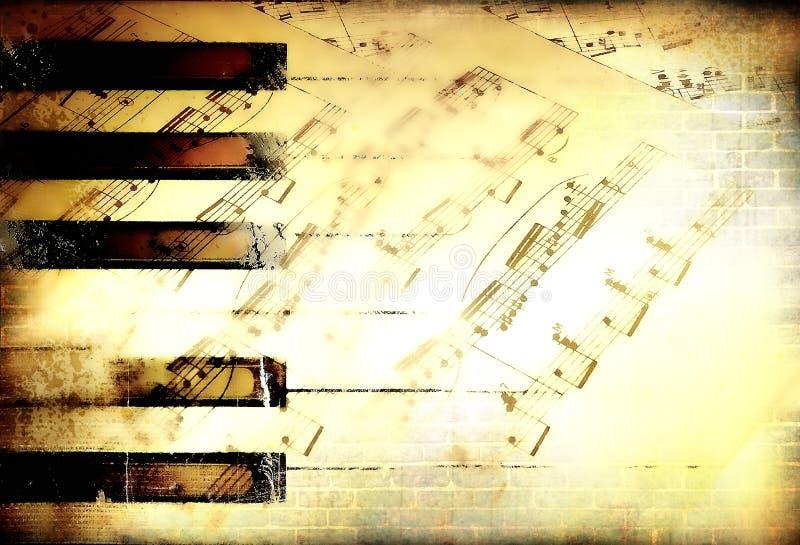 Priorità bassa musicale royalty illustrazione gratis