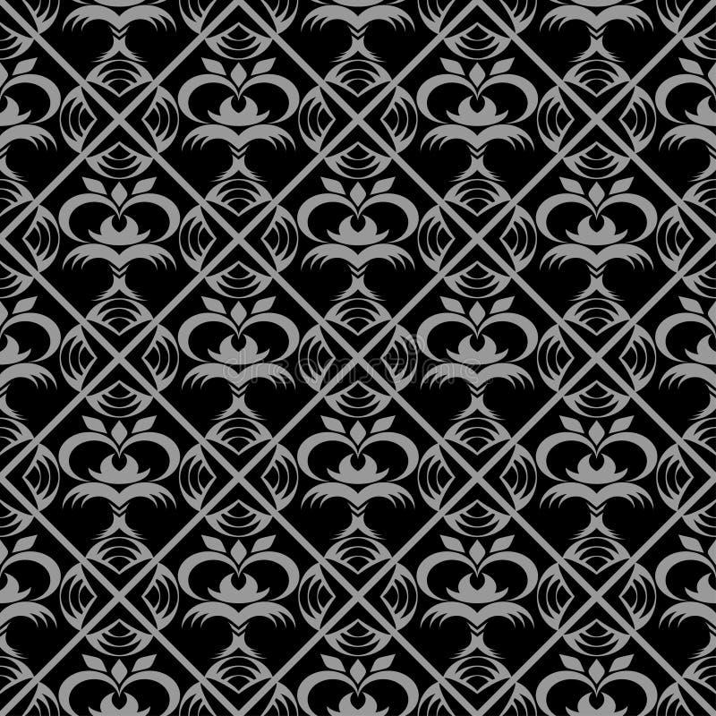 priorità bassa Nero-grigia. royalty illustrazione gratis