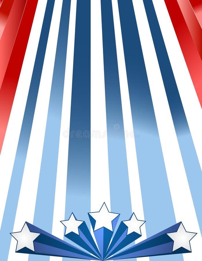 Priorità bassa patriottica royalty illustrazione gratis