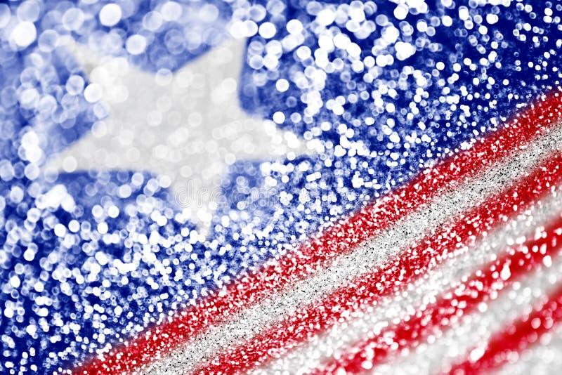 Priorità bassa patriottica della bandiera americana immagini stock libere da diritti