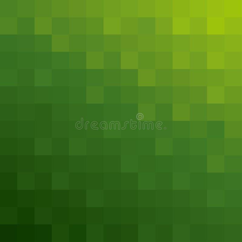 Priorità bassa quadrata verde di struttura illustrazione vettoriale