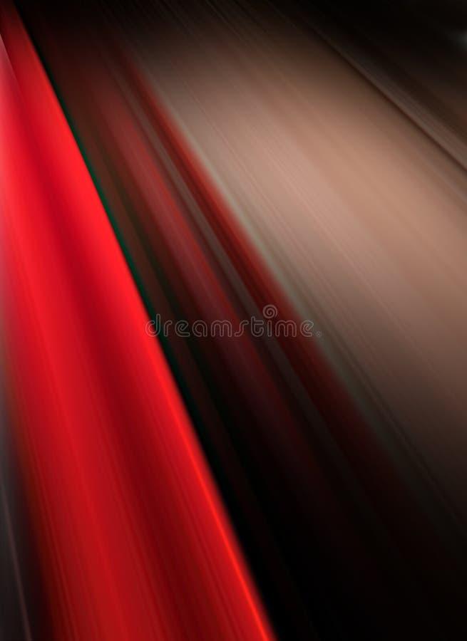 Priorità bassa rossa & nera astratta royalty illustrazione gratis